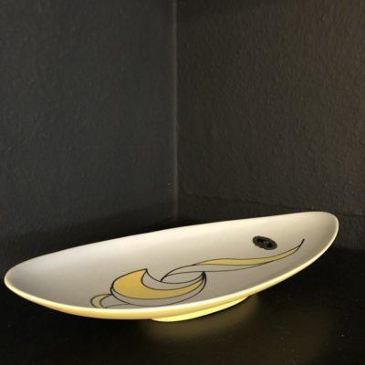 ceramique peint à la main Hans Albert Keramik Zurich 50'