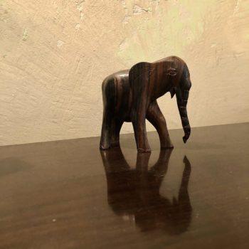 petit éléphant bois