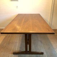 table salle à manger teck double rallonge ulferts suède 60' 180 (290 avec rallonges) x 90 h.72