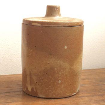 petit pot céramique avec couvercle h 8